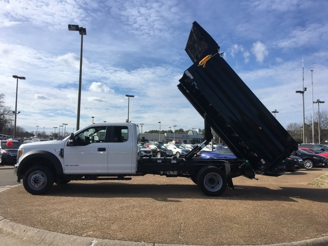 2017 F-550 Super Cab DRW 4x4, Rugby Landscape Dump #NF40435 - photo 10