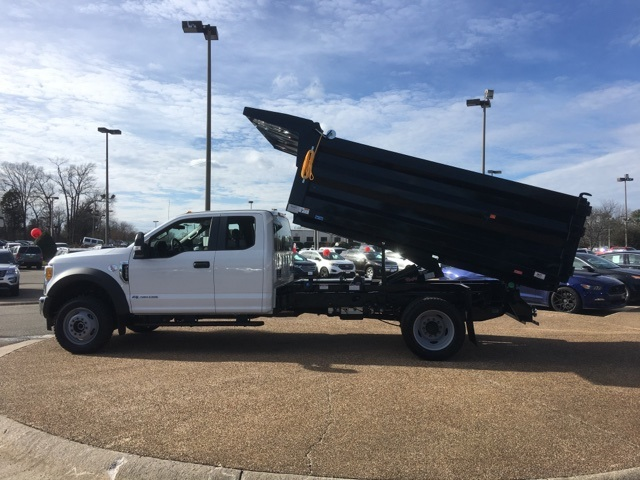 2017 F-550 Super Cab DRW 4x4, Rugby Landscape Dump #NF40435 - photo 12