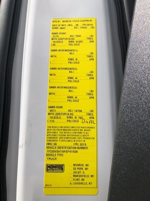 2019 F-550 Crew Cab DRW 4x4,  Monroe MSS II Service Body #NF61928 - photo 15