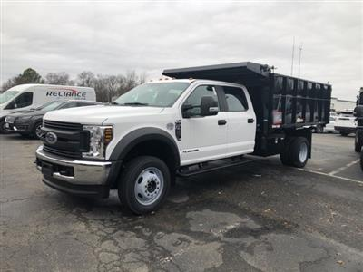 2019 F-450 Crew Cab DRW 4x4, Reading Landscaper SL Landscape Dump #NF84961 - photo 4