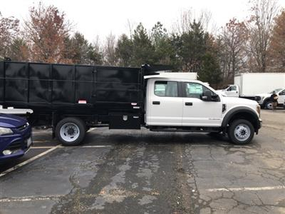 2019 F-450 Crew Cab DRW 4x4, Reading Landscaper SL Landscape Dump #NF84961 - photo 6