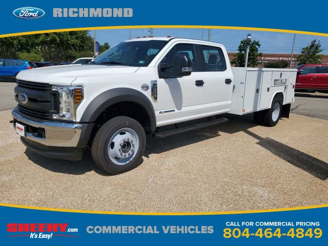 2019 F-550 Crew Cab DRW 4x4,  Reading SL Service Body #NF84964 - photo 1
