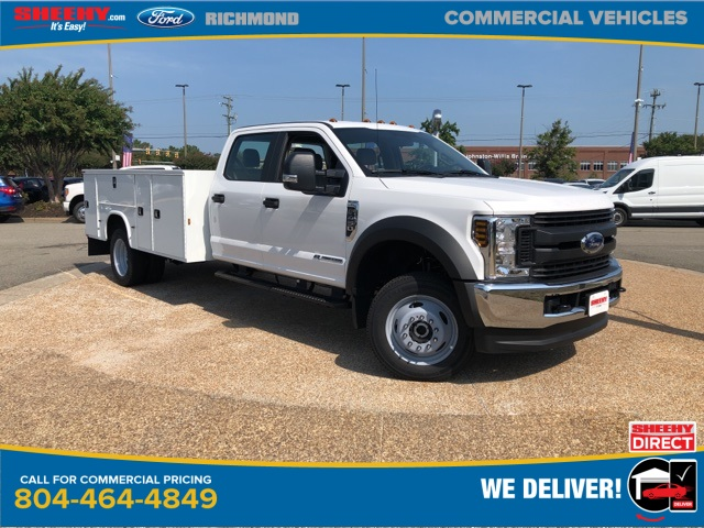 2019 F-450 Crew Cab DRW 4x4,  Knapheide Service Body #NF85125 - photo 1