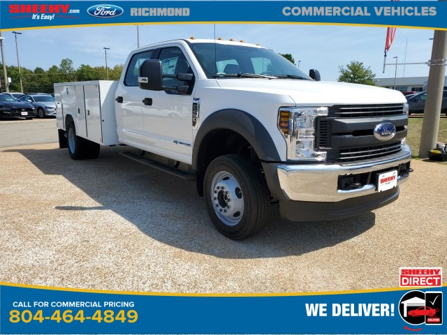 2019 Ford F-450 Crew Cab DRW 4x4, Reading SL Service Body #NF85355 - photo 1