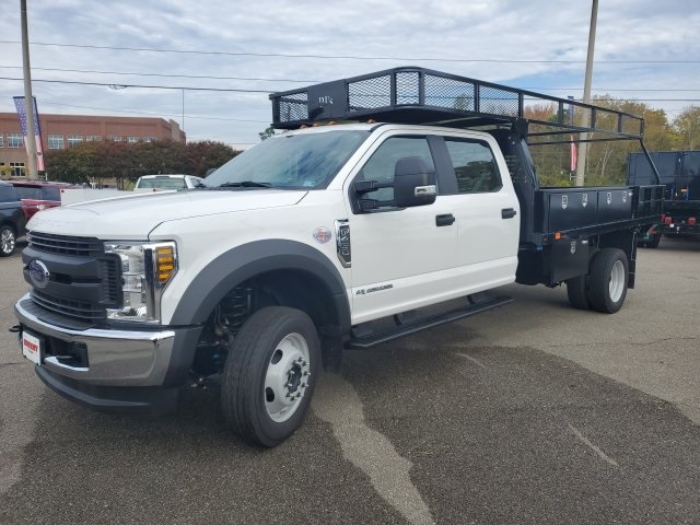 2019 Ford F-450 Crew Cab DRW 4x4, PJ's Contractor Body #NF85724 - photo 1