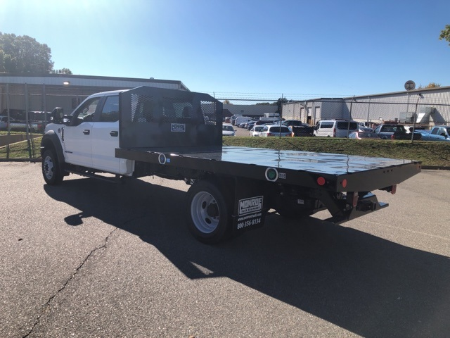 2019 F-550 Crew Cab DRW 4x4, Monroe Platform Body #NF85796 - photo 1