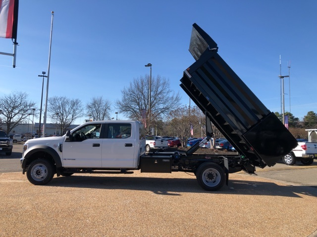 2019 F-550 Crew Cab DRW 4x4, Rugby Landscape Dump #NG12872 - photo 12
