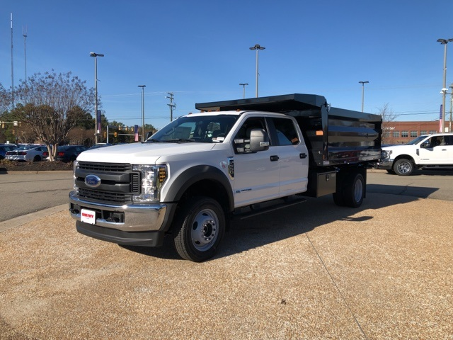 2019 F-550 Crew Cab DRW 4x4, Rugby Landscape Dump #NG12872 - photo 4