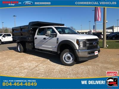 2019 F-550 Crew Cab DRW 4x4, Rugby Landscape Dump #NG12872 - photo 1