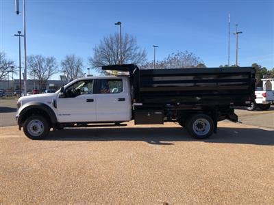 2019 F-550 Crew Cab DRW 4x4, Rugby Landscape Dump #NG12872 - photo 5