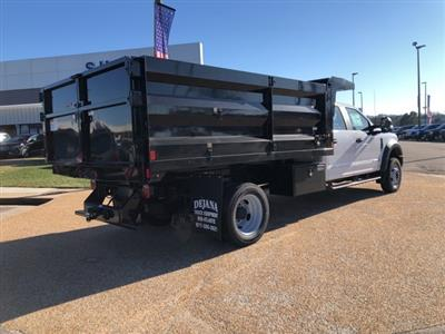 2019 F-550 Crew Cab DRW 4x4, Rugby Landscape Dump #NG12872 - photo 2
