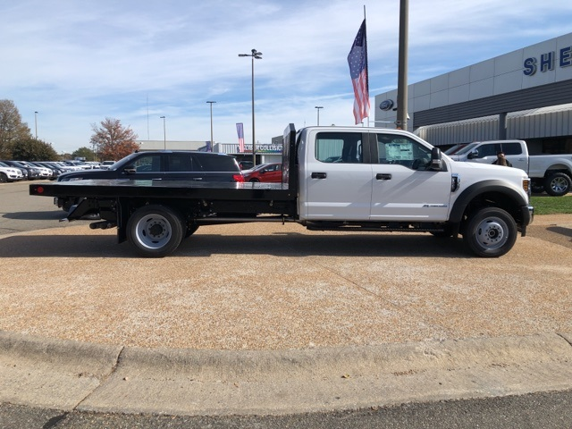 2019 F-550 Crew Cab DRW 4x4, Monroe Work-A-Hauler II Platform Body #NG13254 - photo 7