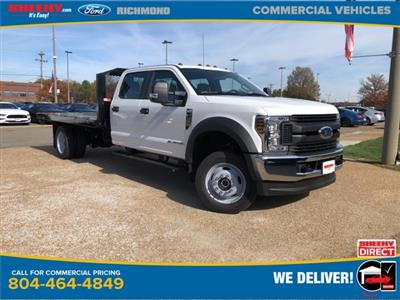 2019 F-550 Crew Cab DRW 4x4, Monroe Work-A-Hauler II Platform Body #NG13254 - photo 1