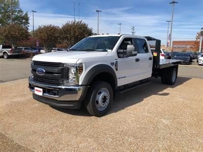 2019 F-550 Crew Cab DRW 4x4, Monroe Work-A-Hauler II Platform Body #NG13254 - photo 3