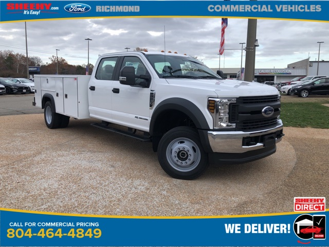 2019 Ford F-550 Crew Cab DRW 4x4, Monroe MSS II Service Body #NG13255 - photo 1