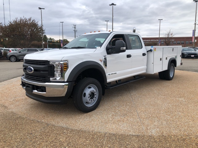 2019 Ford F-550 Crew Cab DRW 4x4, Monroe MSS II Service Body #NG13255 - photo 4