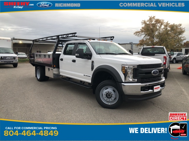 2019 F-450 Crew Cab DRW 4x4, Freedom Contractor Body #NG57321 - photo 1