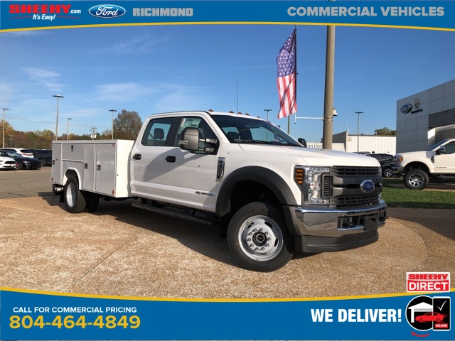 2019 Ford F-450 Crew Cab DRW 4x4, Reading Service Body #NG57322 - photo 1