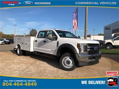 2019 F-450 Crew Cab DRW 4x4, Reading SL Service Body #NG57322 - photo 1