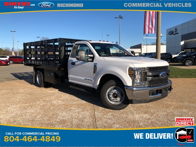 2019 Ford F-350 Regular Cab DRW 4x2, Knapheide Stake Bed #NG57547 - photo 1