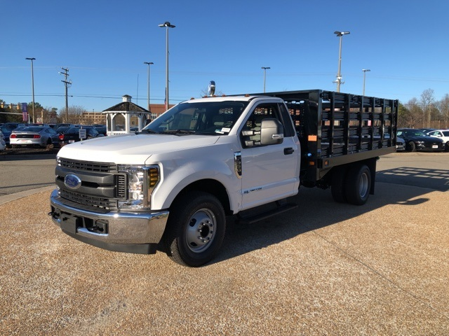 2019 F-350 Regular Cab DRW 4x2, Knapheide Value-Master X Stake Bed #NG57547 - photo 3