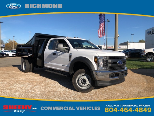 2019 F-550 Super Cab DRW 4x4, Rugby Dump Body #NG57582 - photo 1