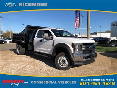 2019 F-550 Super Cab DRW 4x4, Rugby Eliminator LP Steel Dump Body #NG57582 - photo 1