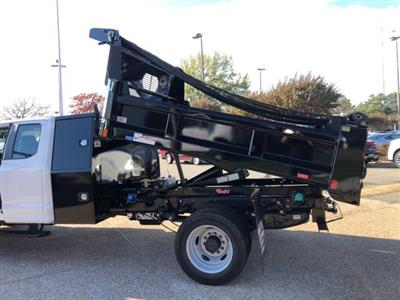 2019 F-550 Super Cab DRW 4x4, Rugby Eliminator LP Steel Dump Body #NG57582 - photo 9