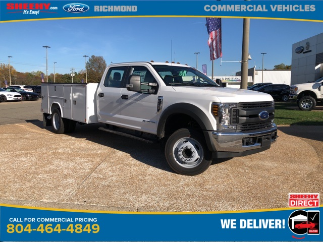 2019 Ford F-450 Crew Cab DRW 4x2, Reading Service Body #NG57938 - photo 1