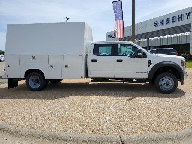 2019 Ford F-450 Crew Cab DRW 4x4, Reading Panel Service Body #NG57942 - photo 3