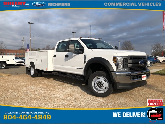 2019 F-450 Crew Cab DRW 4x4, Reading Service Body #NG57944 - photo 1