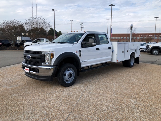 2019 F-550 Crew Cab DRW 4x4, Reading SL Service Body #NG57953 - photo 4