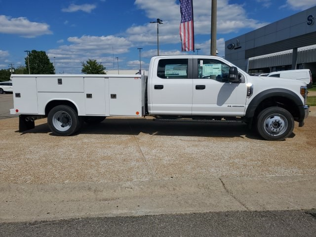 2019 F-550 Crew Cab DRW 4x4, Reading Classic II Steel Service Body #NG57959 - photo 5