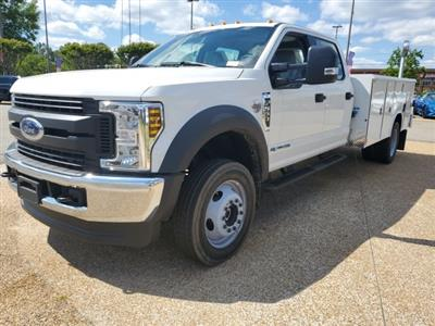 2019 Ford F-550 Crew Cab DRW 4x4, Reading Classic II Steel Service Body #NG57959 - photo 3