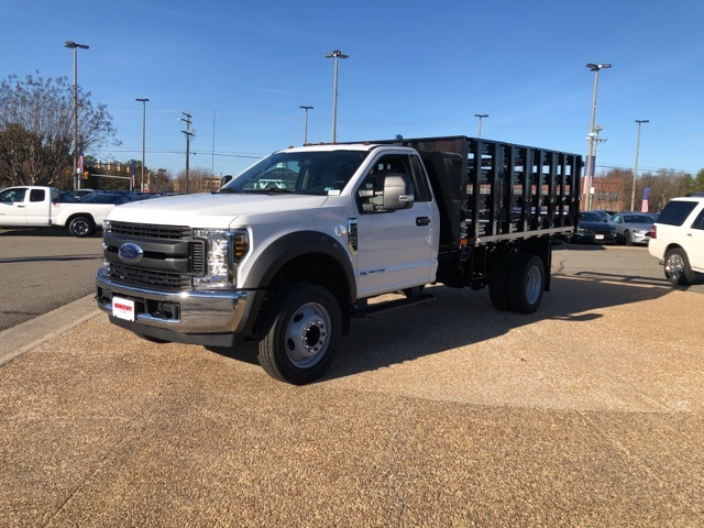 2019 F-450 Regular Cab DRW 4x2, PJ's Stake Bed #NG58577 - photo 4