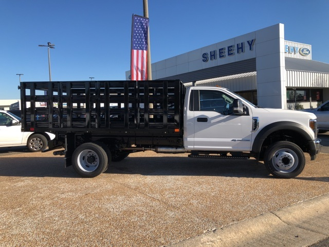 2019 F-450 Regular Cab DRW 4x2, PJ's Stake Bed #NG58577 - photo 8