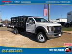 2019 Ford F-450 Regular Cab DRW 4x2, PJ's Stake Bed #NG58577 - photo 1