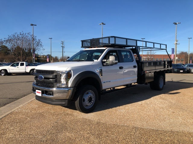 2019 Ford F-450 Crew Cab DRW 4x4, PJ's Contractor Body #NG58623 - photo 4