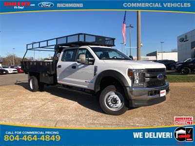 2019 Ford F-450 Crew Cab DRW 4x4, PJ's Contractor Body #NG58623 - photo 1