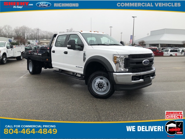 2019 F-550 Crew Cab DRW 4x4, Hillsboro GII Steel Platform Body #NG58752 - photo 1