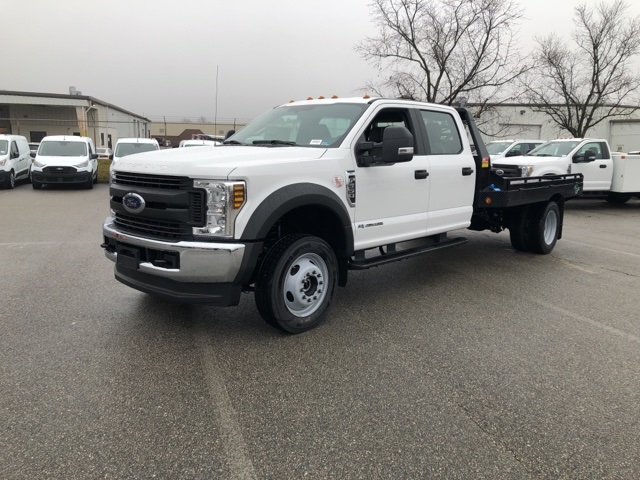 2019 F-550 Crew Cab DRW 4x4, Hillsboro GII Steel Platform Body #NG58752 - photo 4