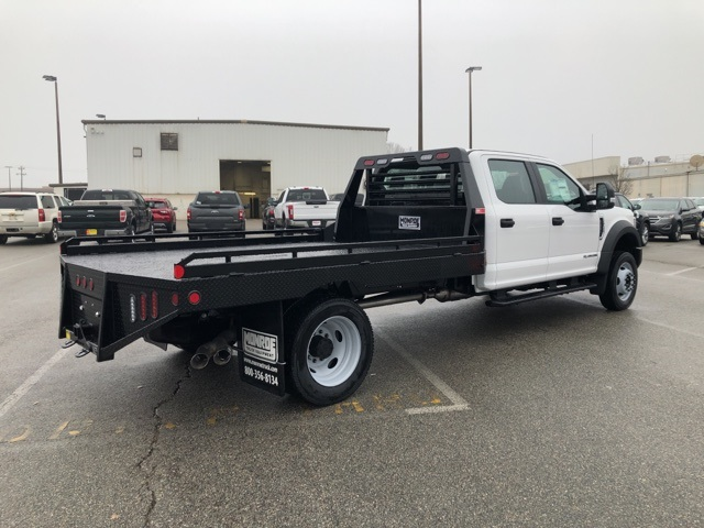 2019 F-550 Crew Cab DRW 4x4, Hillsboro Platform Body #NG58752 - photo 1