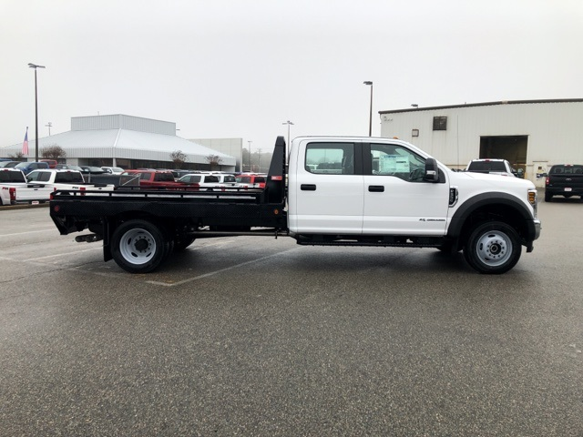 2019 F-550 Crew Cab DRW 4x4, Hillsboro GII Steel Platform Body #NG58752 - photo 8