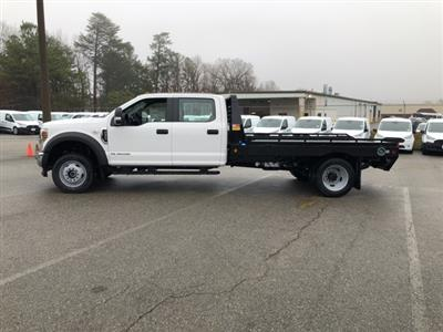 2019 F-550 Crew Cab DRW 4x4, Hillsboro GII Steel Platform Body #NG58752 - photo 5