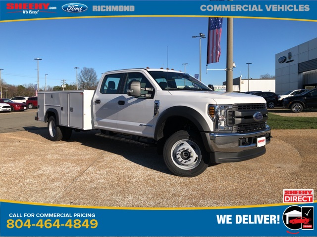 2019 F-550 Crew Cab DRW 4x4, Monroe Service Body #NG58753 - photo 1