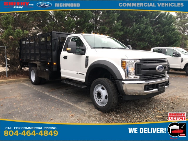2019 F-450 Regular Cab DRW 4x2, Knapheide Value-Master X Stake Bed #NG79472 - photo 1