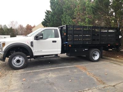 2019 F-450 Regular Cab DRW 4x2, Knapheide Value-Master X Stake Bed #NG79472 - photo 5