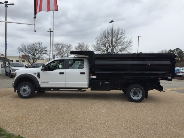 2019 F-550 Crew Cab DRW 4x4, Rugby Landscape Dump #NG79487 - photo 5