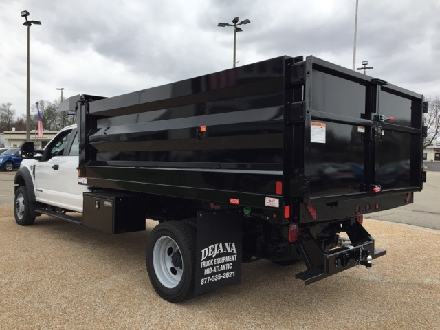 2019 F-550 Crew Cab DRW 4x4, Rugby Landscape Dump #NG79487 - photo 6