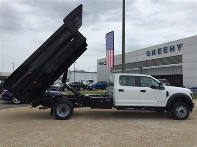 2019 F-550 Crew Cab DRW 4x4, Rugby Landscape Dump #NG79487 - photo 13